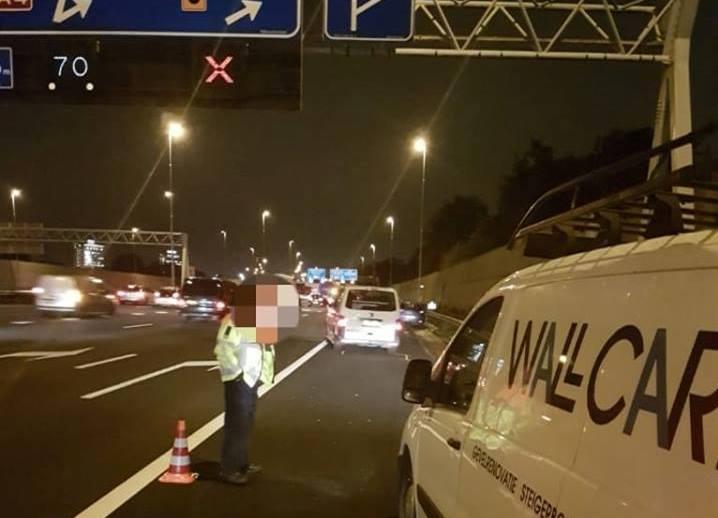 Automobilisten negeren massaal rood kruis A4
