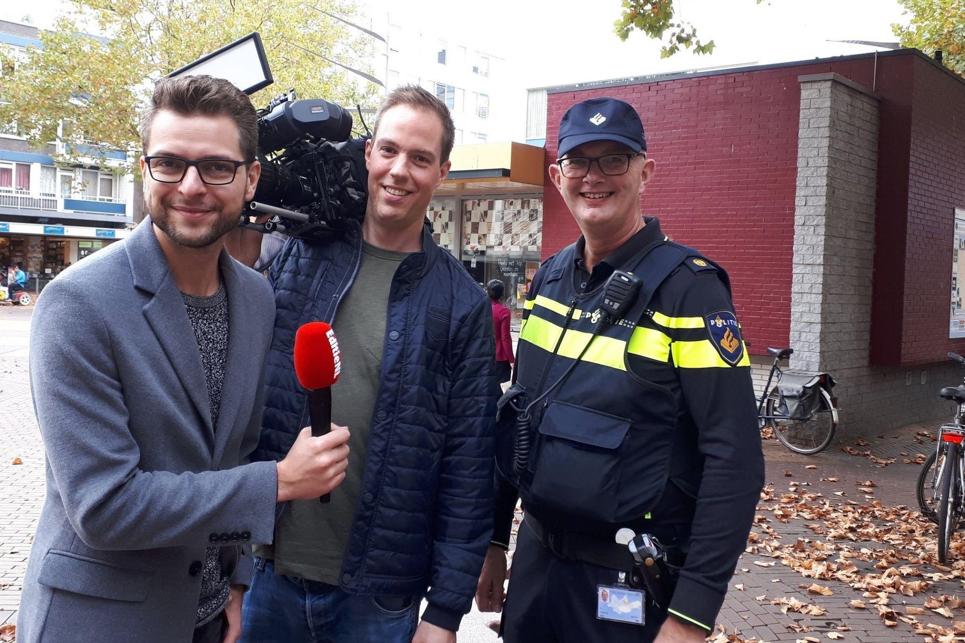 Wijkagent Kor de Jong in EditieNL