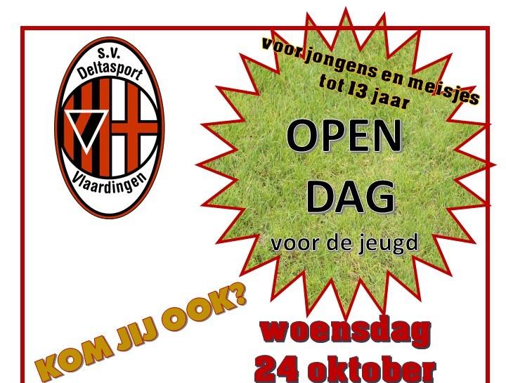 Open dag voor de jeugd bij Deltasport!