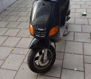 Scooter gestolen vanaf de Lepelaarsingel