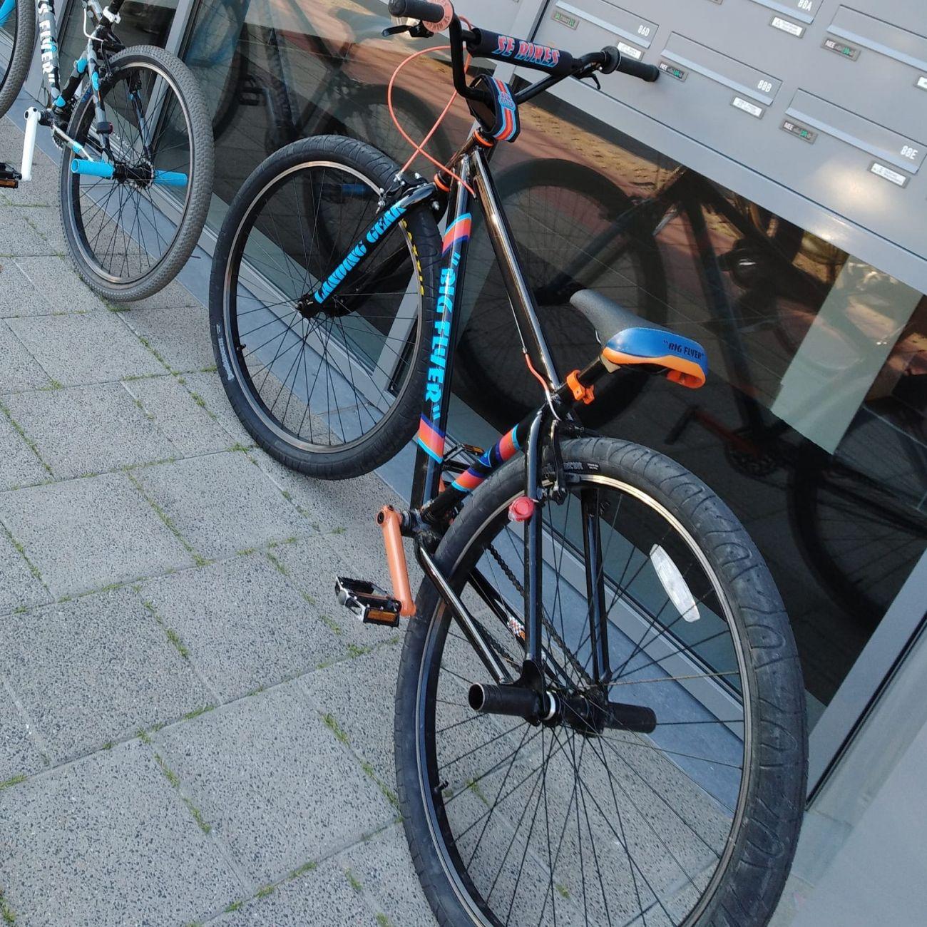 Bijzondere BMX fiets gestolen
