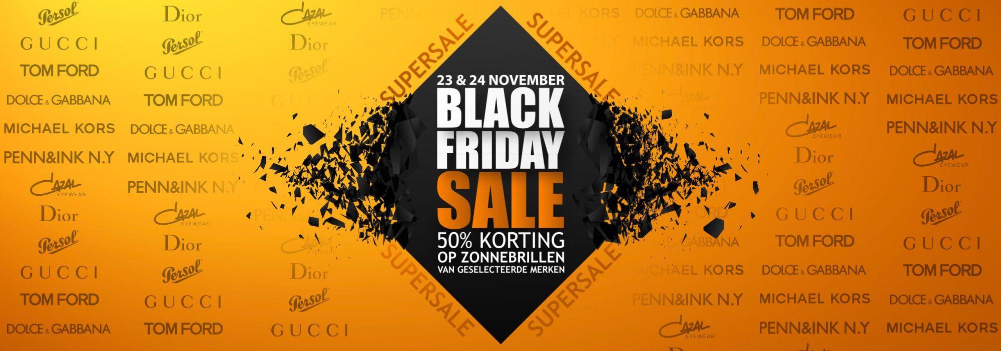 Black Friday bij Meer Optiek