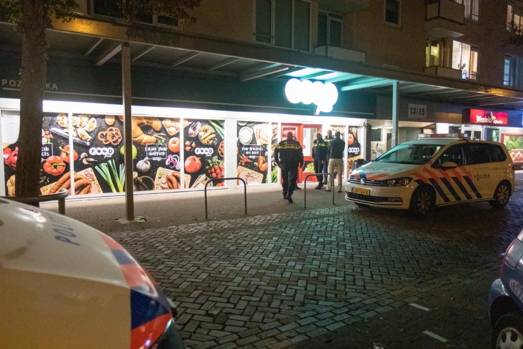 Overval Poolse supermarkt