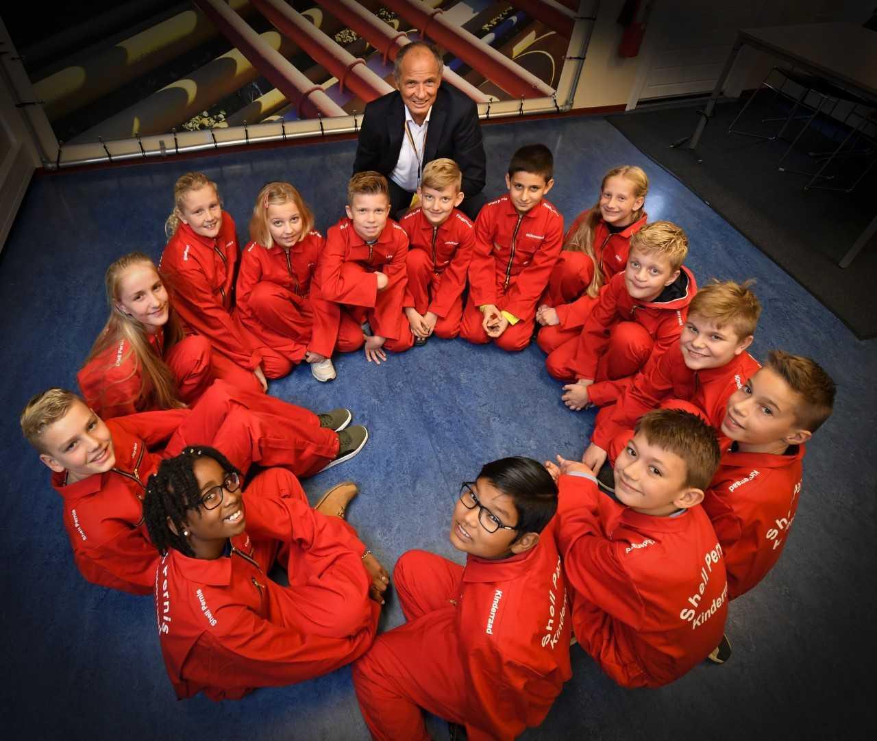Kinderraad Shell Pernis enthousiast van start!