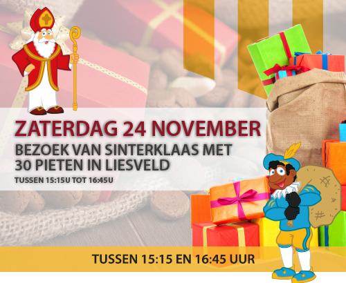 Sinterklaas op het Liesveld