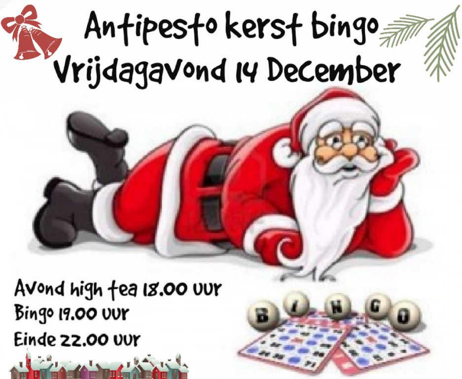 Antipesto benefiet Bingo met high tea !