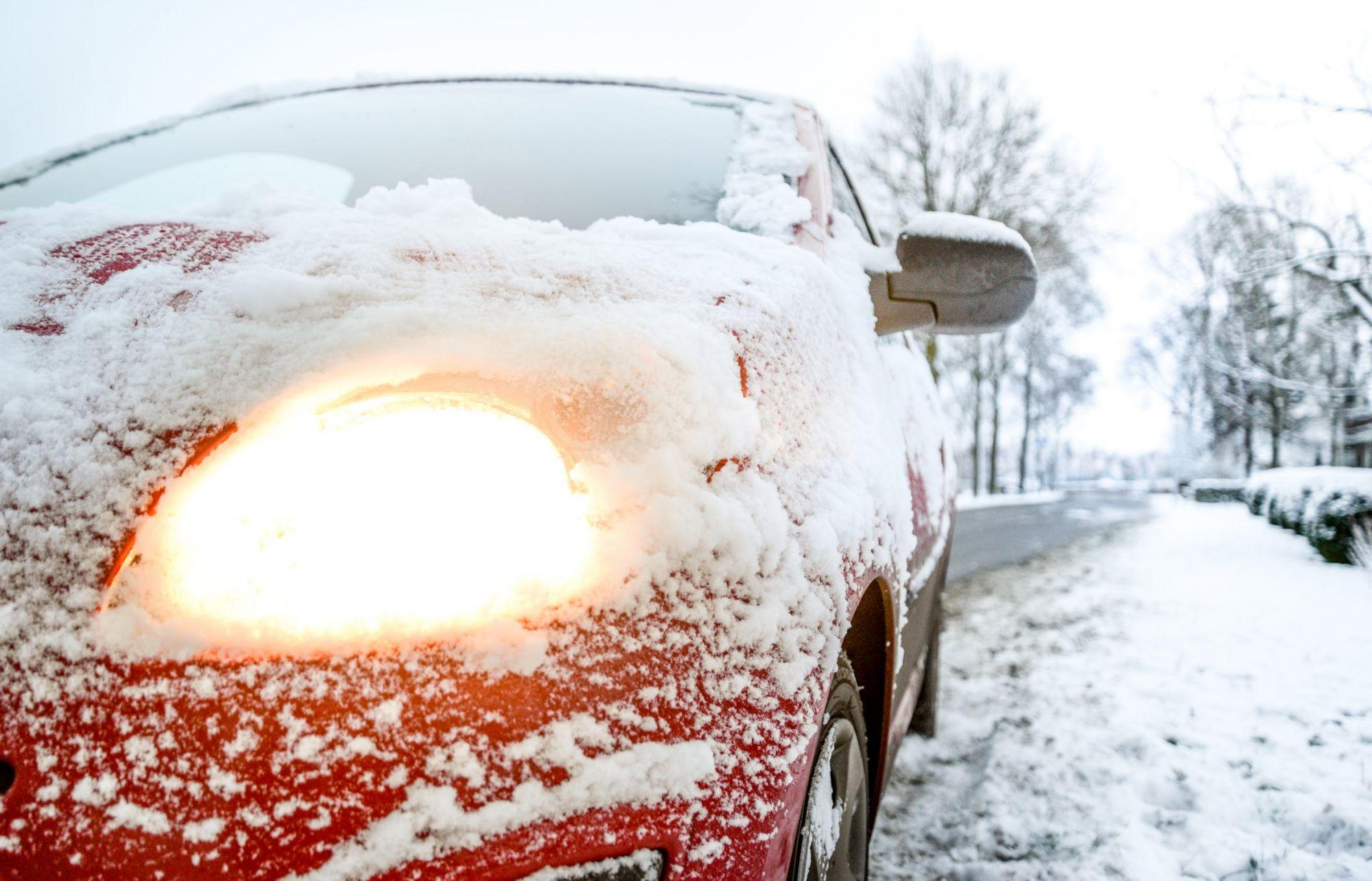 Vanavond gladde wegen door sneeuw en ijzel