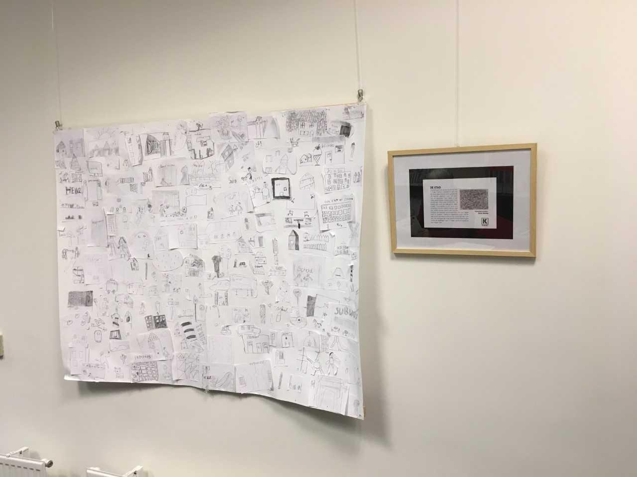 Tentoonstelling in de bieb in samenwerking met KADE40
