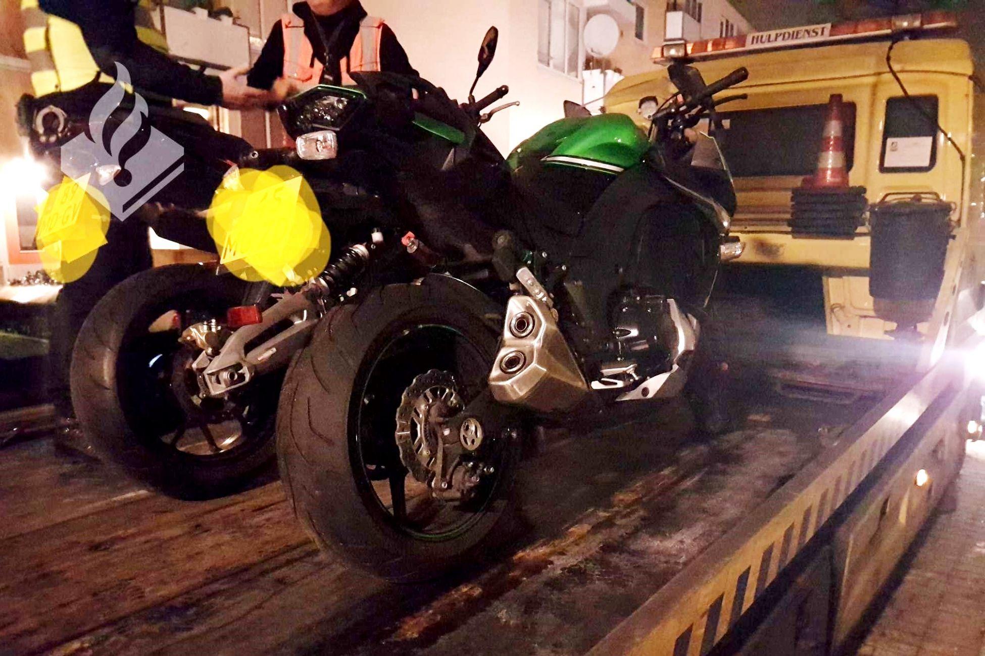 Twee gestolen motoren gevonden in Vlaardingen