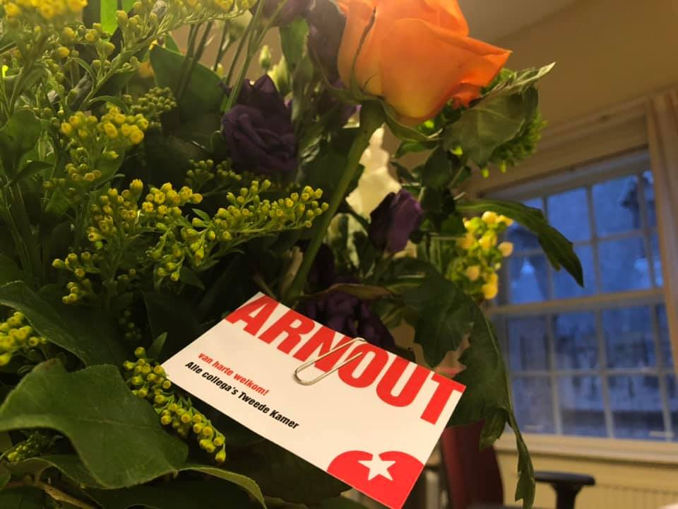 Arnout Hoekstra terug in Tweede Kamer