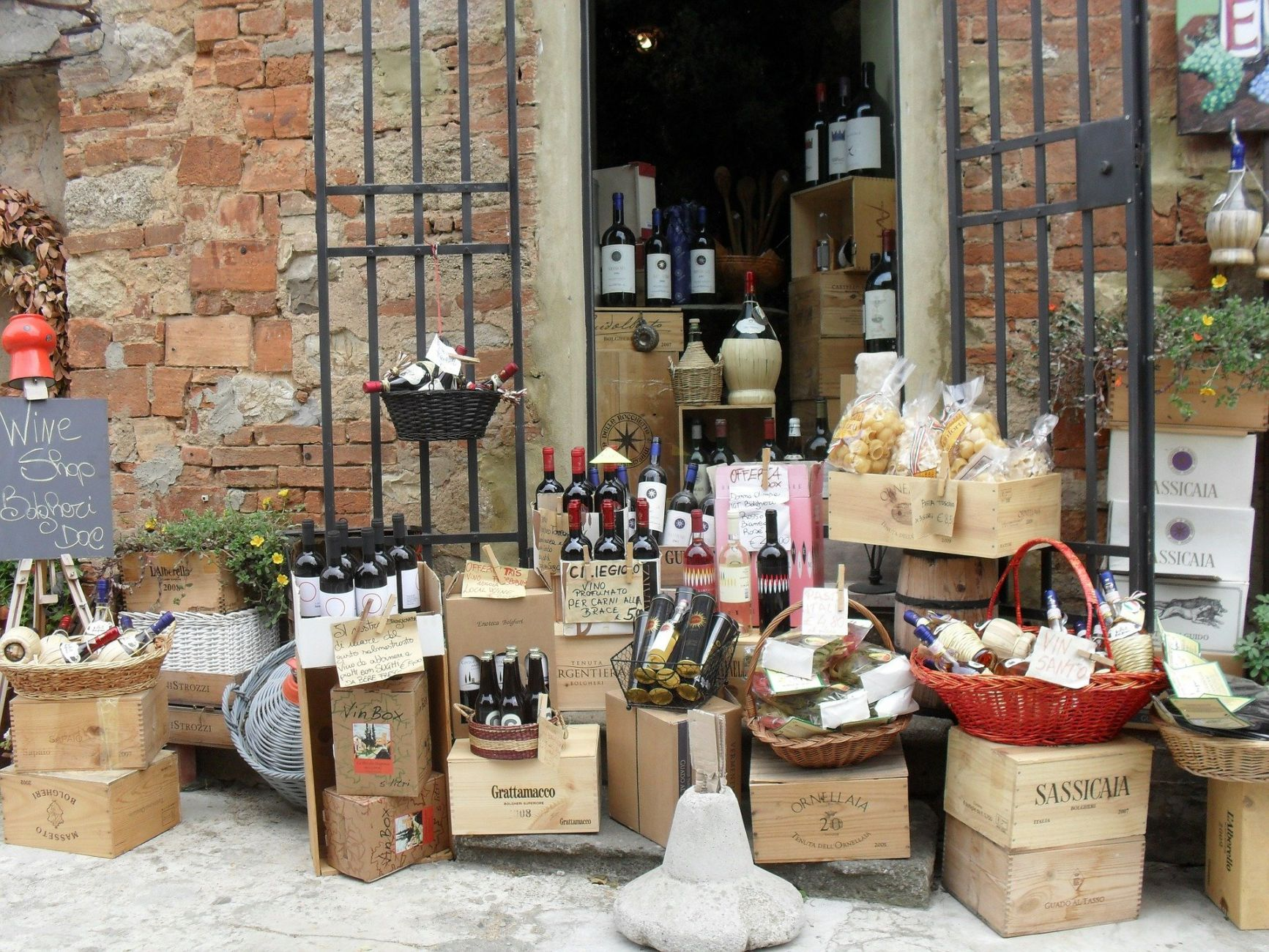 Proeverij Italiaanse wijnen uitgesteld