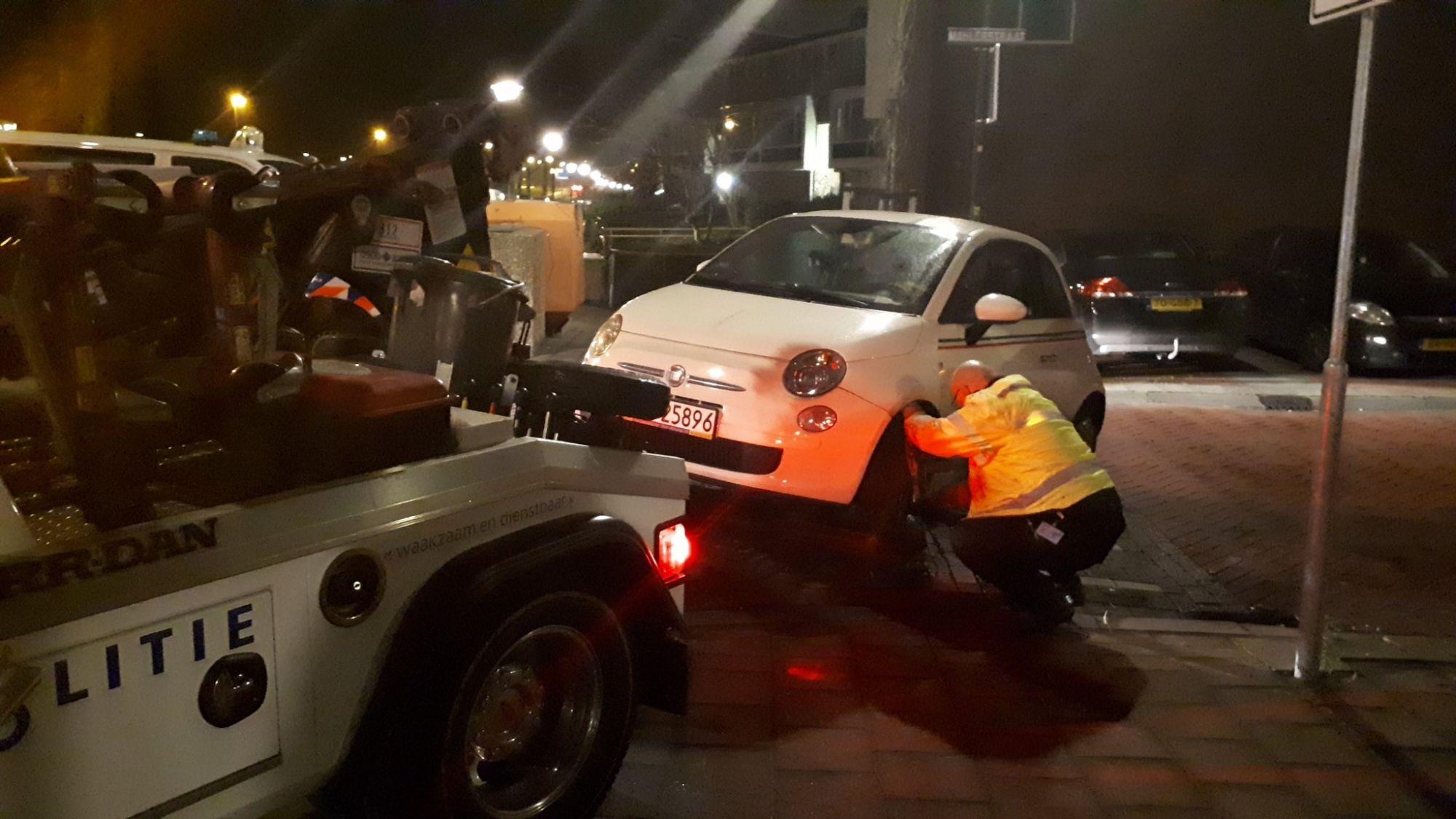 Harde actie tegen foutparkeerders in de VOP