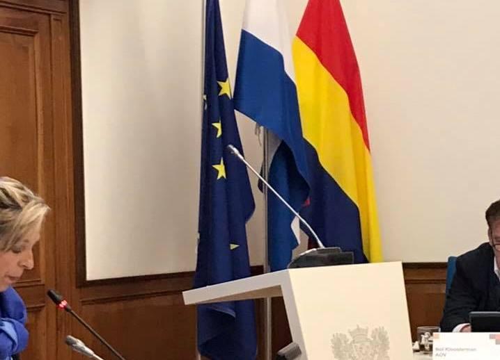 Verbazing over EU-vlag in raadszaal