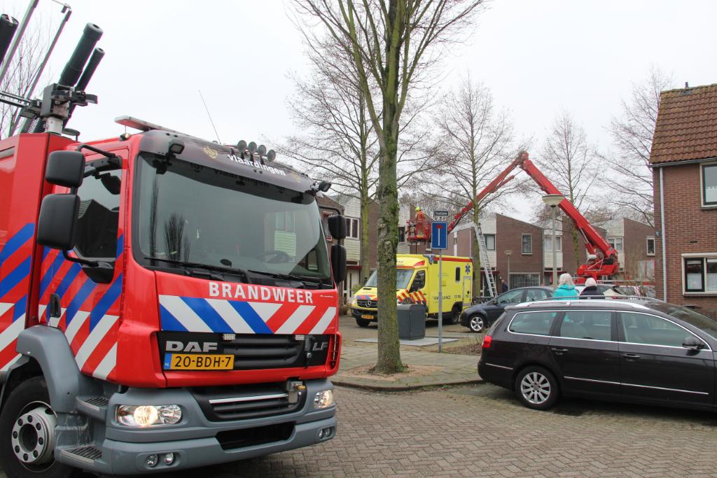 Massale inzet hulpdiensten in de Texelhoeve
