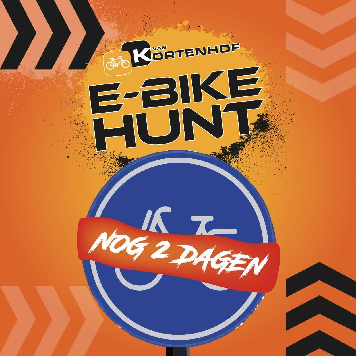 E-bike Hunt van Van Kortenhof