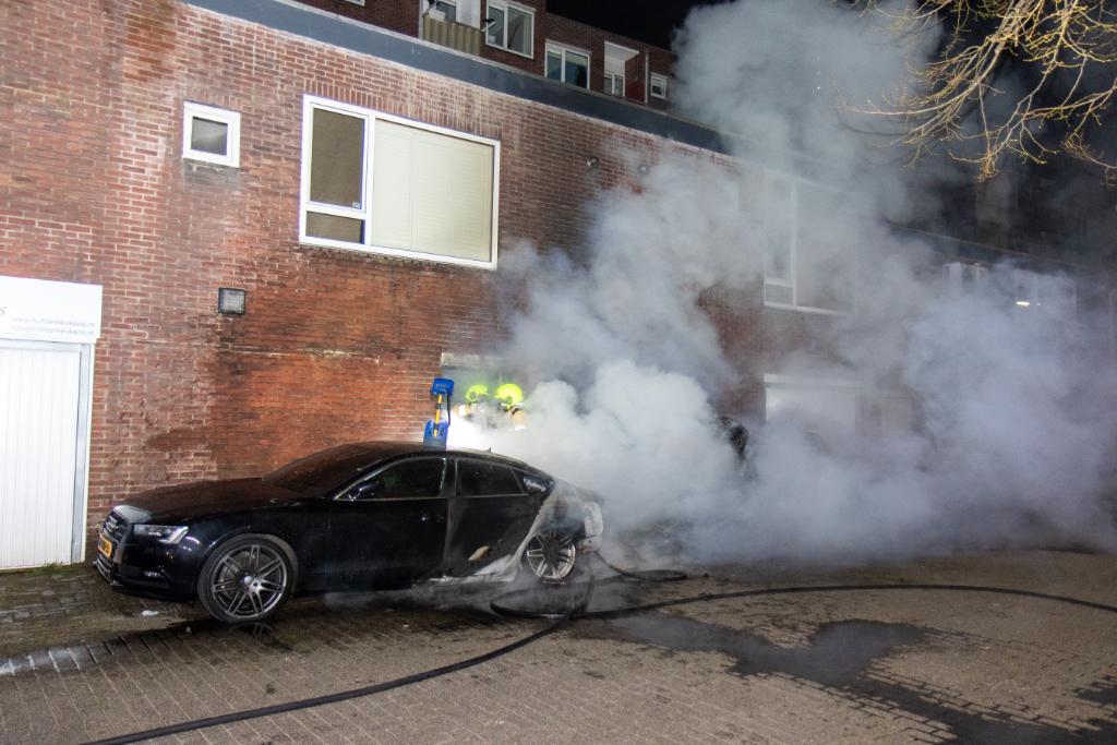 Pyromaan slaat weer toe in Vlaardingen