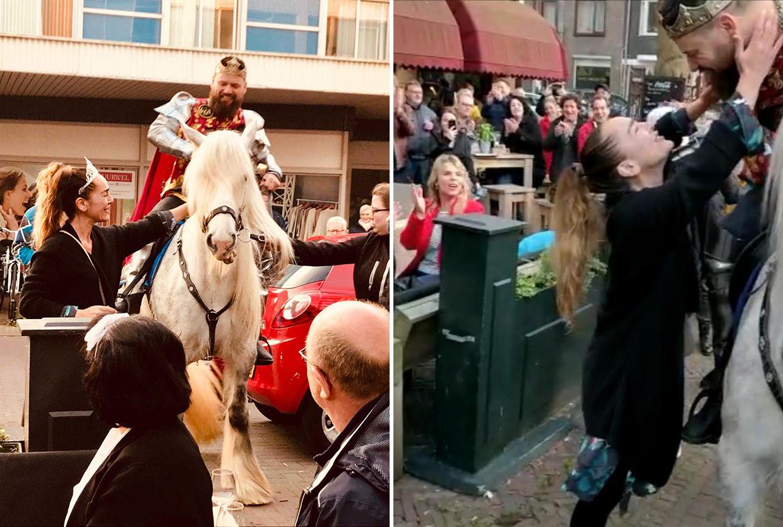 De Prins op het witte paard