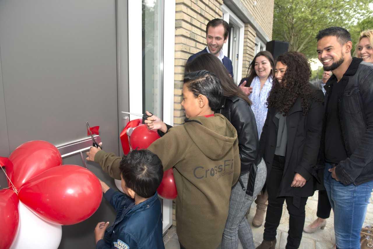 Nul-op-de-Meter-woningen in Westwijk opgeleverd