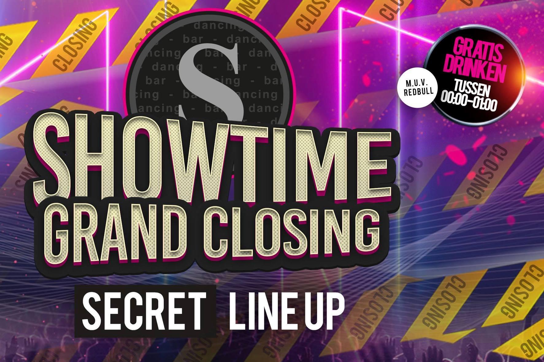 Showtime sluit voorgoed de deuren