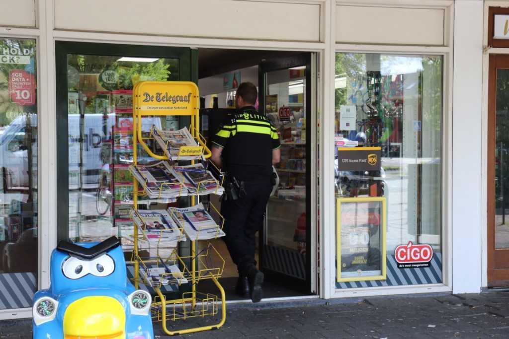 Overval Vlaardingen in Bureau Rijnmond