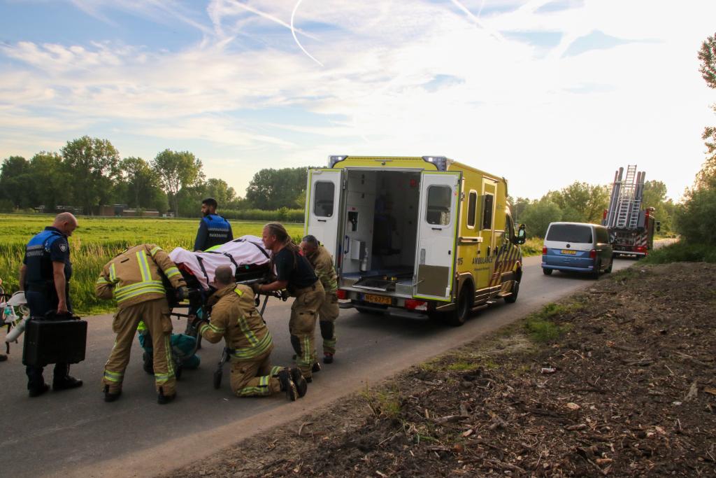 Mountainbikester zwaargewond na val in Broekpolder