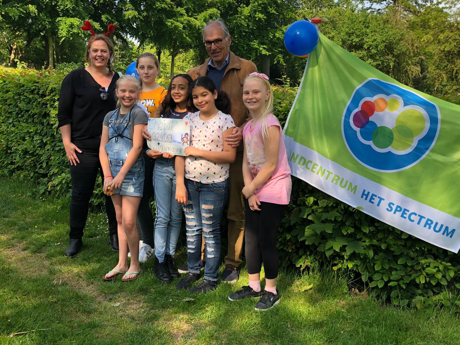 Het Spectrum haalt geld op voor Cystic Fibrosis Stichting