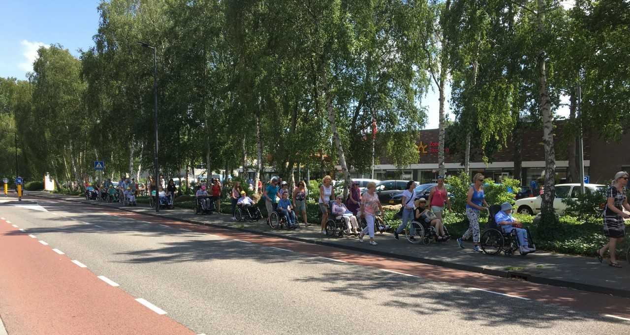Rolstoelvierdaagse Zonnehuisgroep Vlaardingen zoekt meelopers