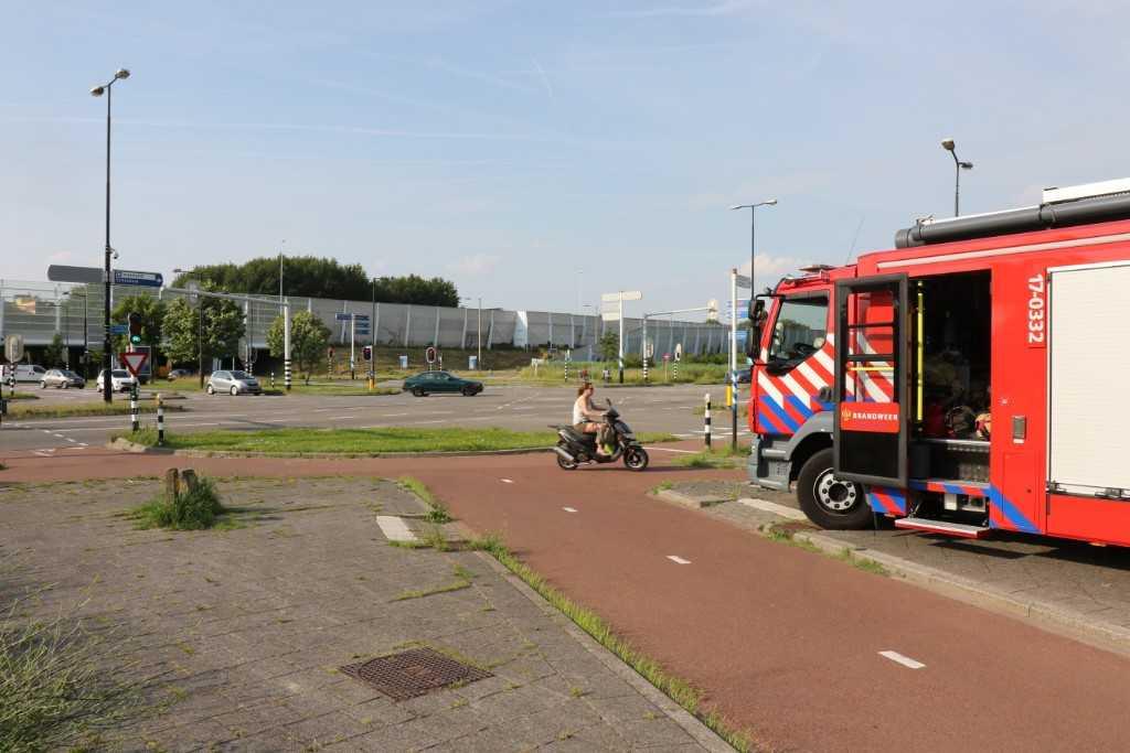 Hulpdiensten strategisch opgesteld in Vlaardingen