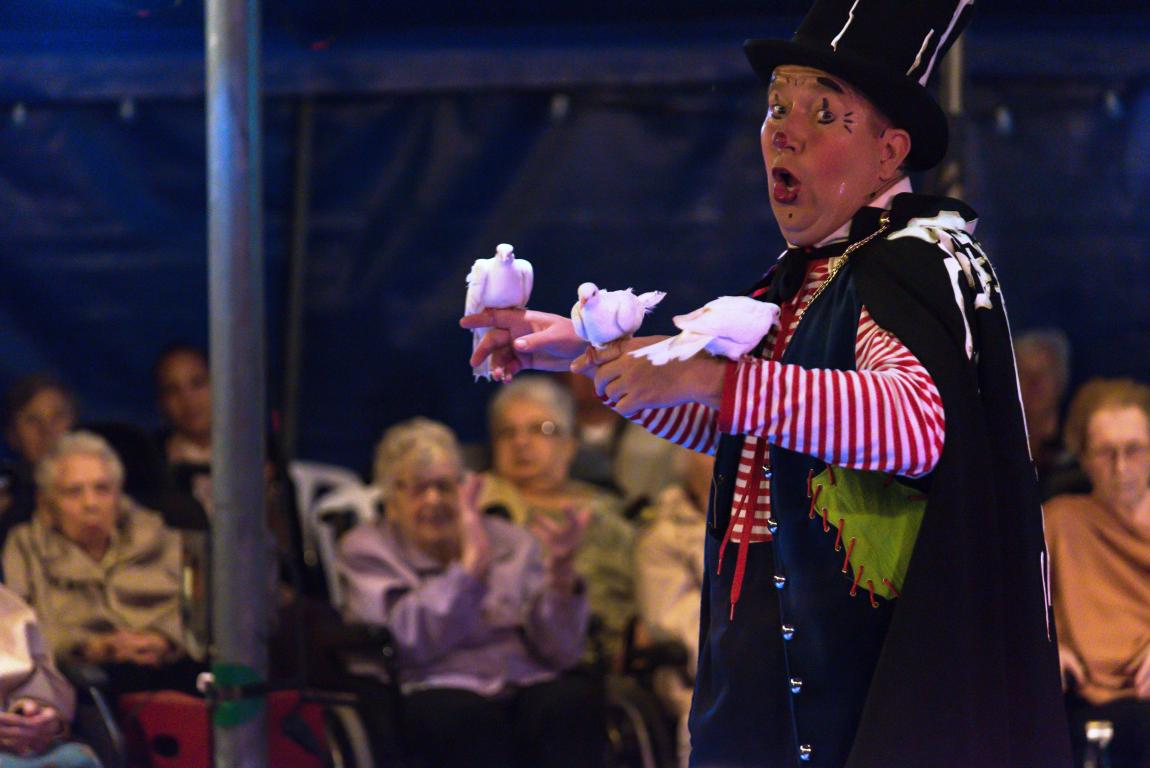 Circus Sijmvermaakt cliënten Argos Zorggroep