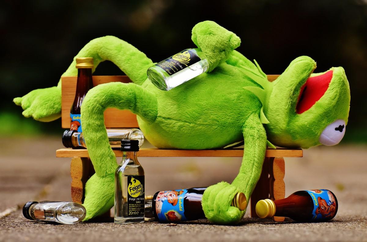 Vlaardingers zijn geen 'drinkebroers'