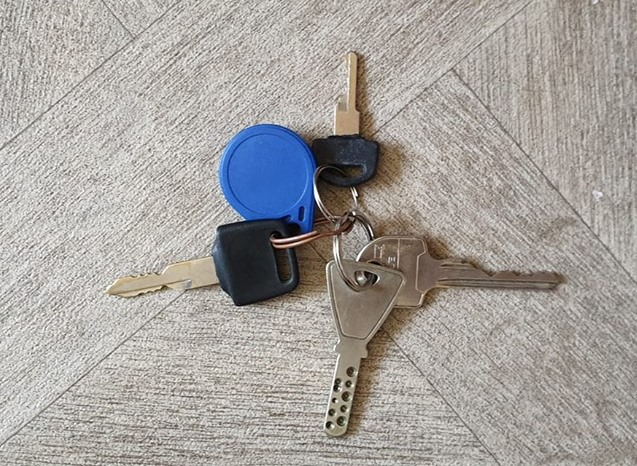 Sleutels gevonden, eigenaar gezocht