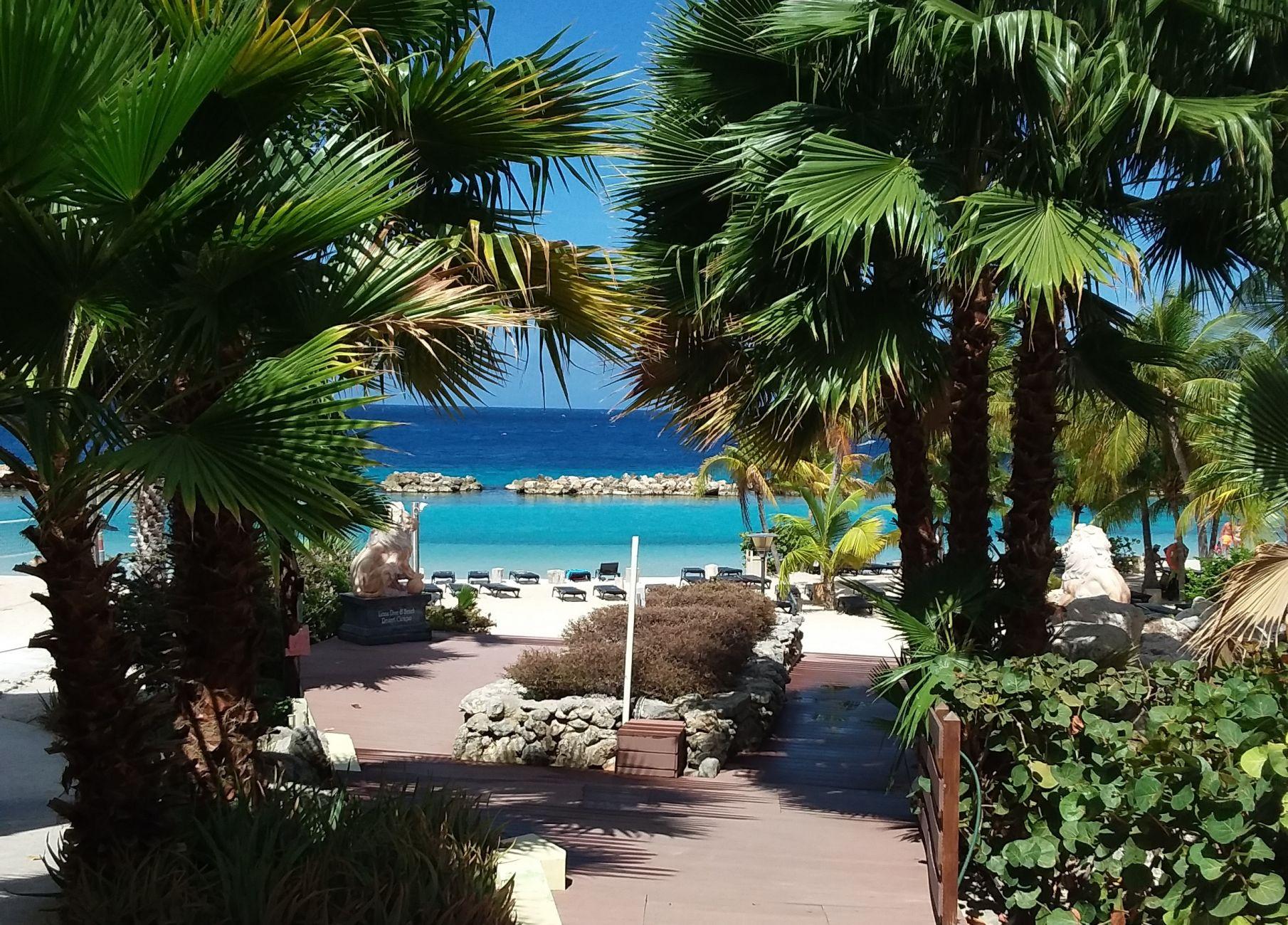 De vakantiegroeten uit Curaçao