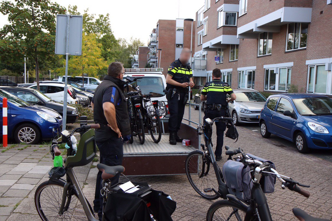 Fietsendief opgepakt; kelder vol gestolen fietsen