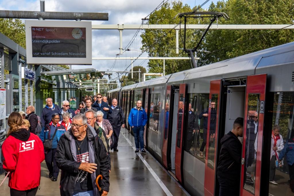 Vervangend busvervoer Hoekse Lijn stopt zaterdag