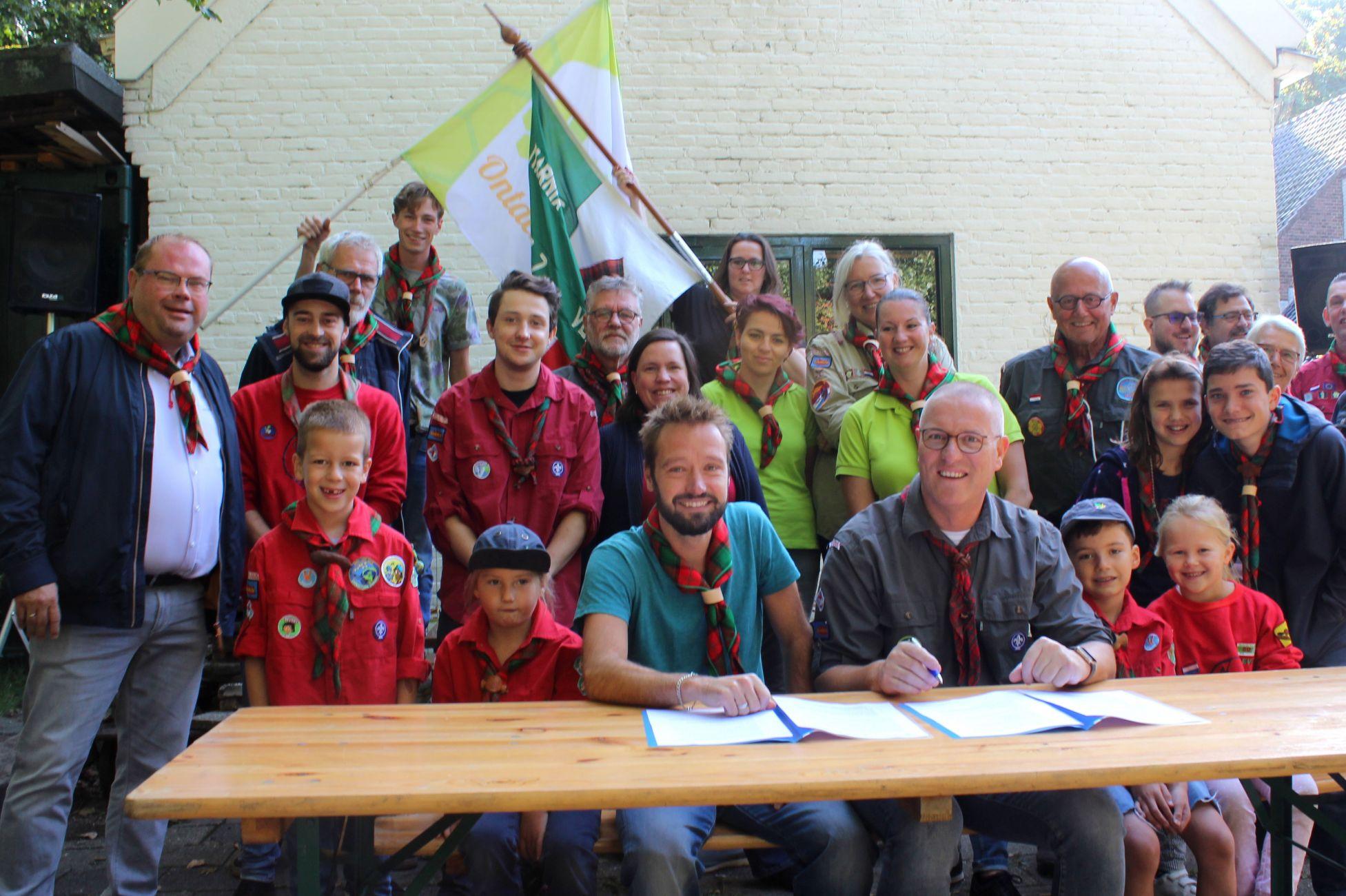 'Ja ik wil': Van Kampenschool en Scouting samen verder