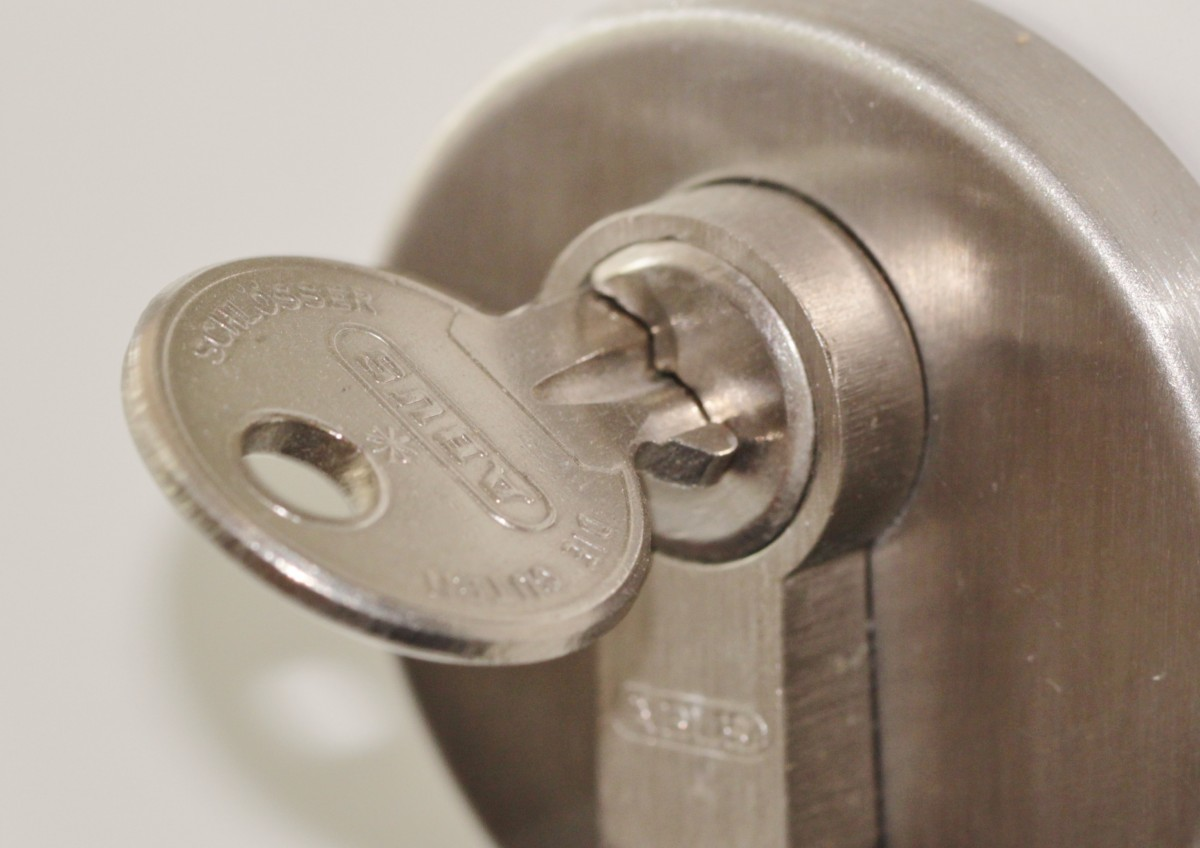 Verloren: sleutelbos