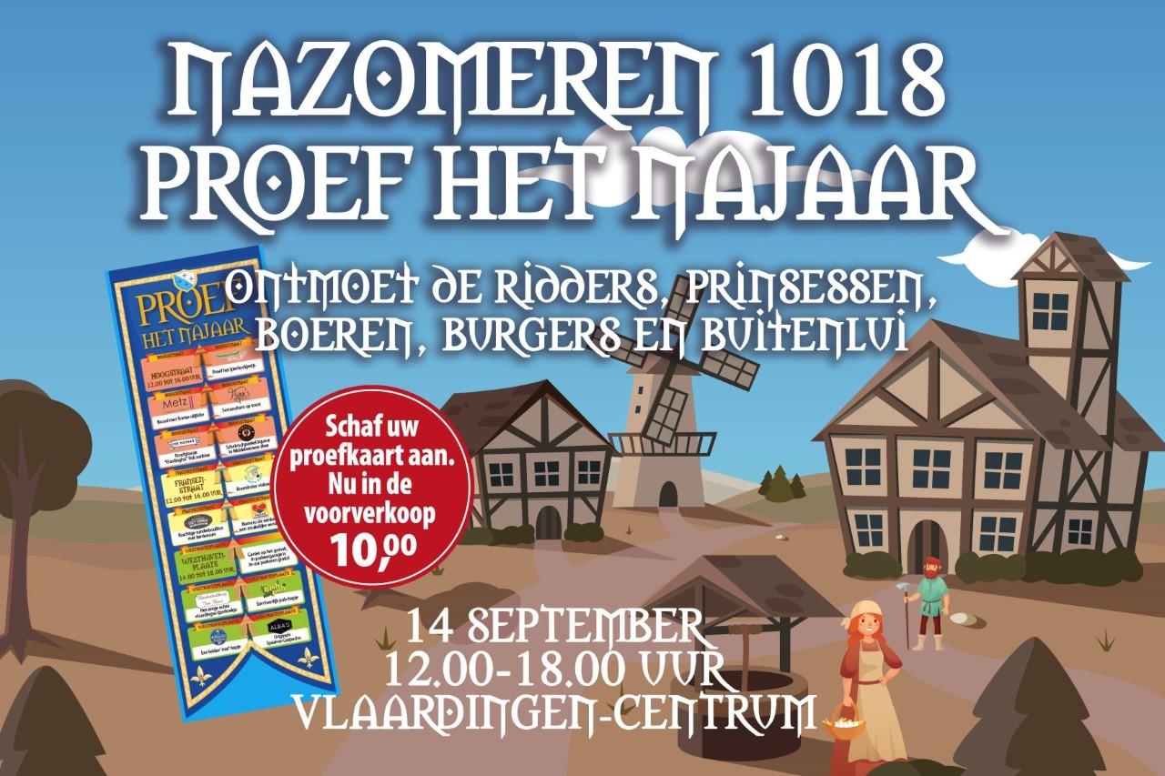 Feestelijk Proeffestijn in Vlaardingen Centrum