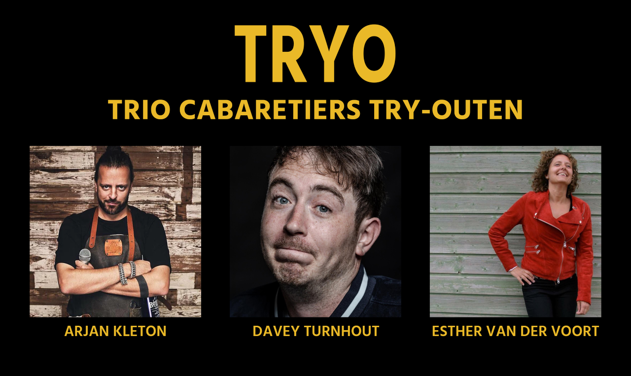 TRYO: trio cabaretiers try-outen