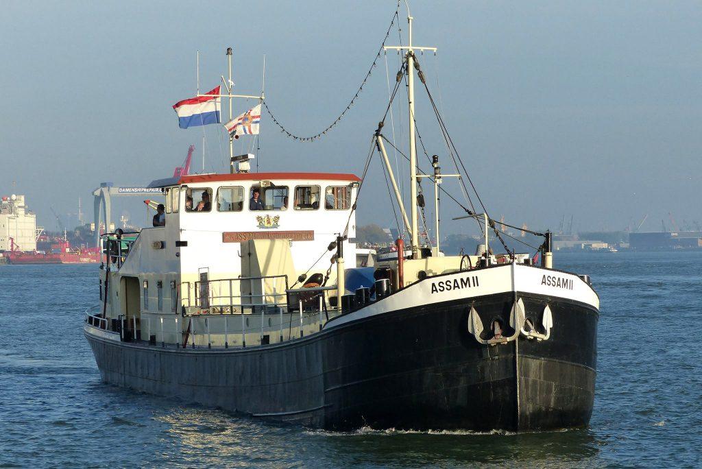 Zeekadetten vragen hulp voor vlonder Assam II