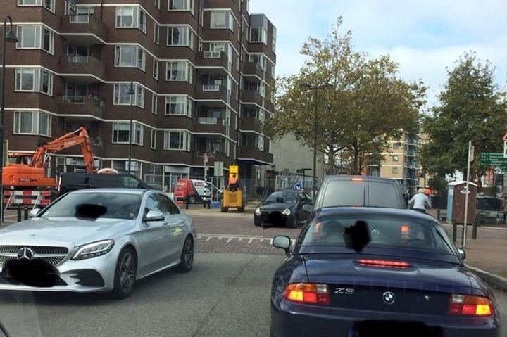 Verkeer centrum 'geplaagd' door afsluitingen