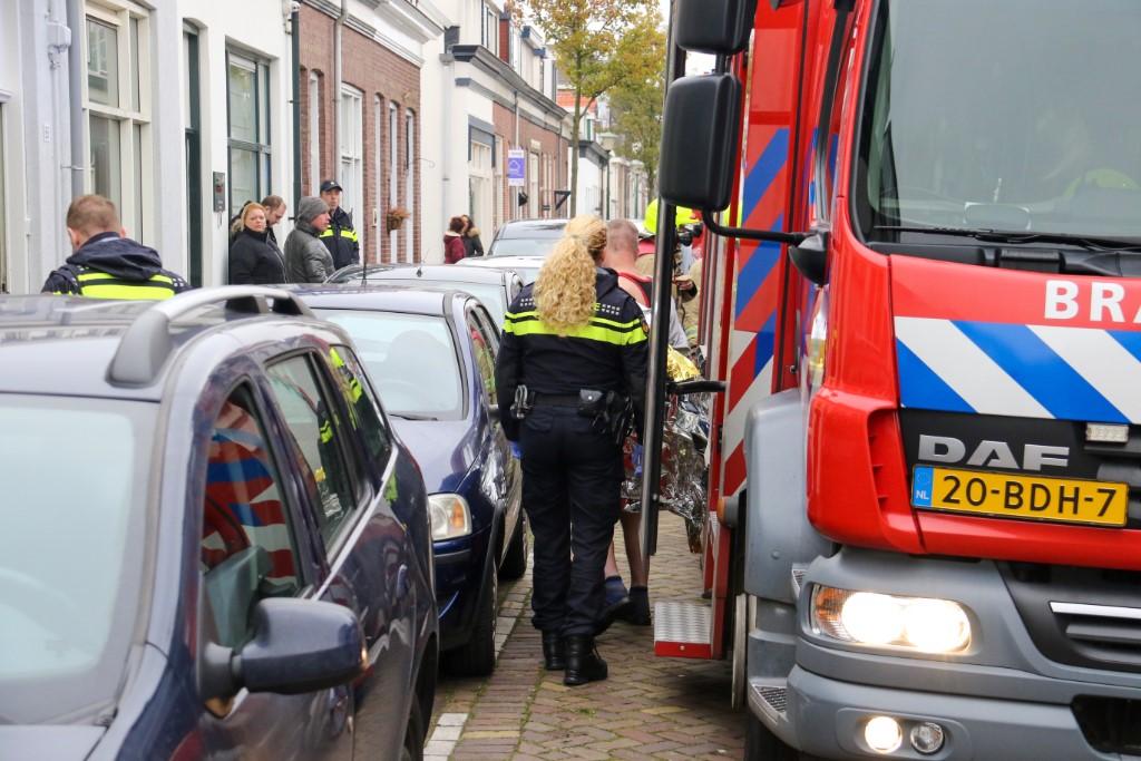 Man gewond bij keukenbrand Eendrachtstraat