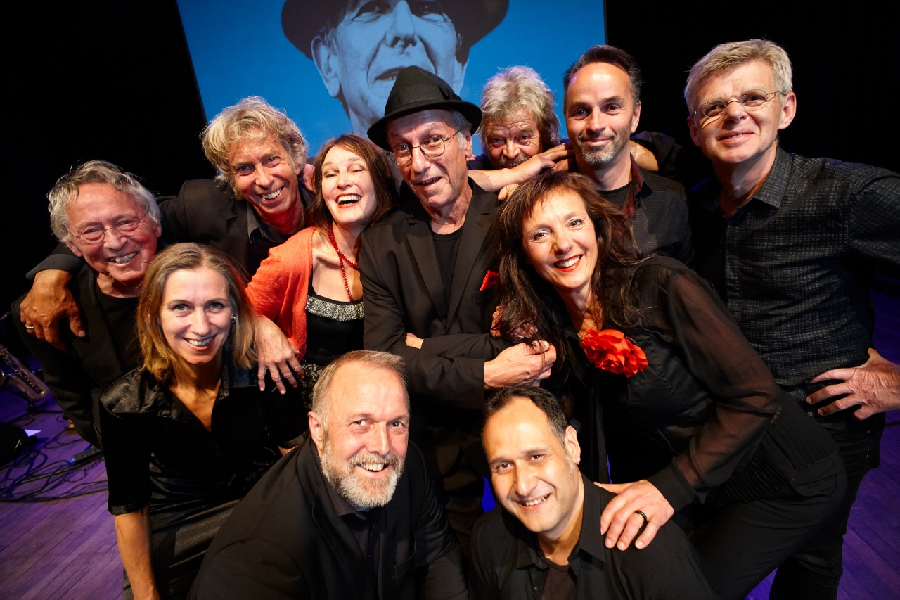 Leonard Cohen Tribute Band met I can't forget tour