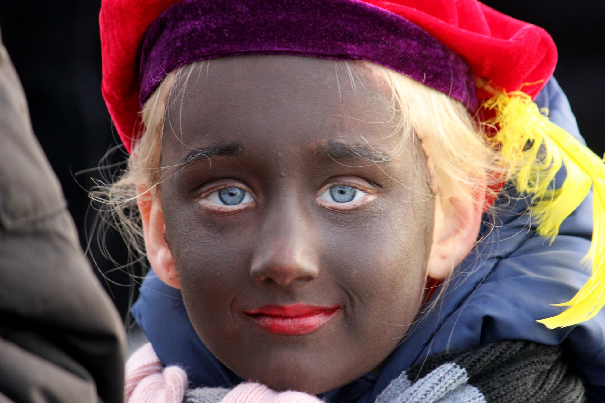 Intocht Sinterklaas: koud, maar droog, druk en gezellig