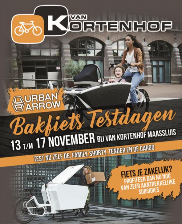 Urban Arrow Bakfietsdagen bij Van Kortenhof