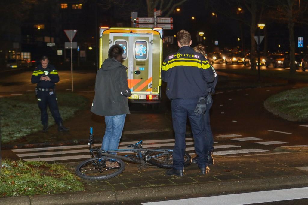 Weer fietser aangereden bij station Oost