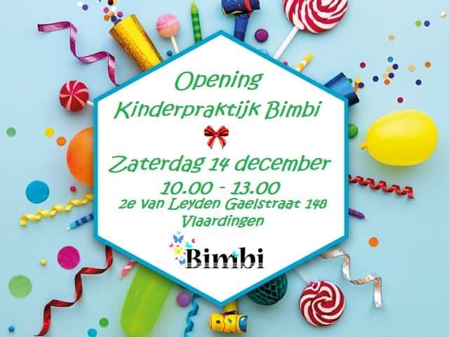 Opening Kinderpraktijk Bimbi in Vlaardingen