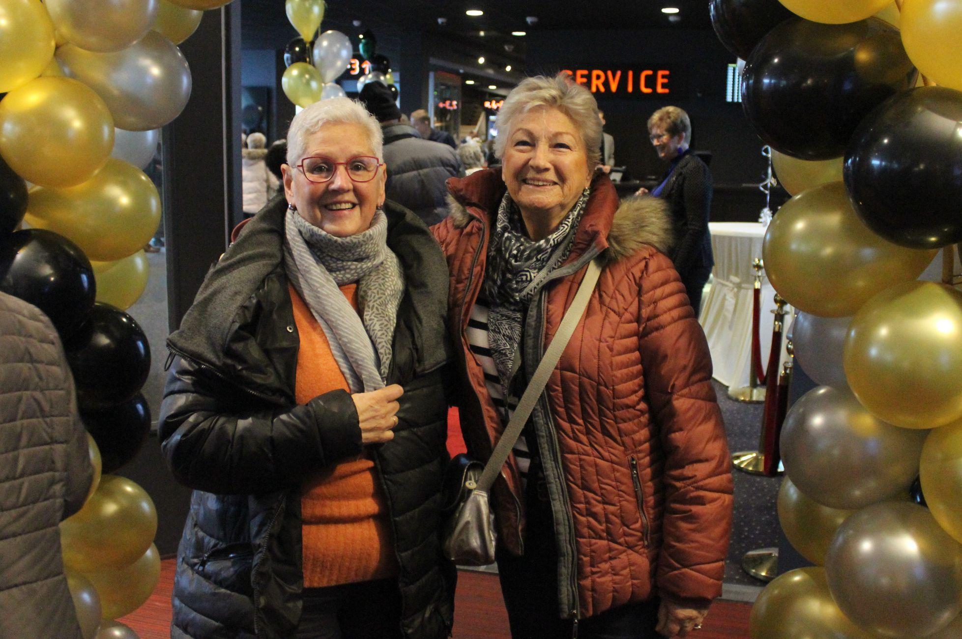 Vrijwilligers onthaald in Vue bioscoop