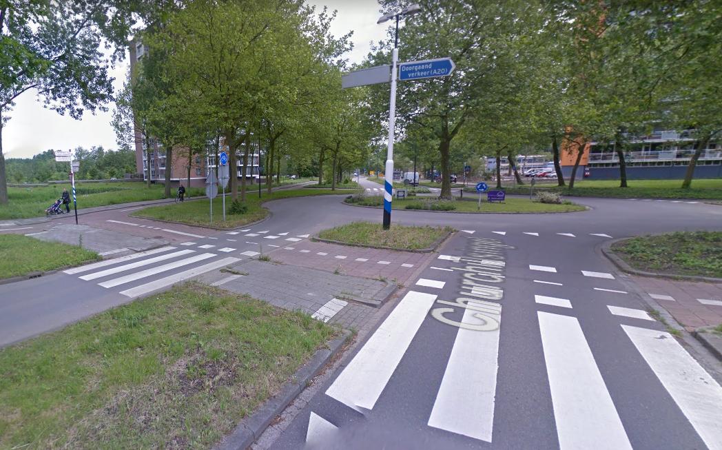 Gezocht: vrouw die jongen op fiets aanreed!