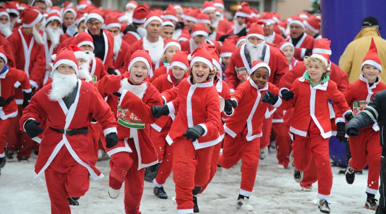 Zesde editie Rotary Santa Run
