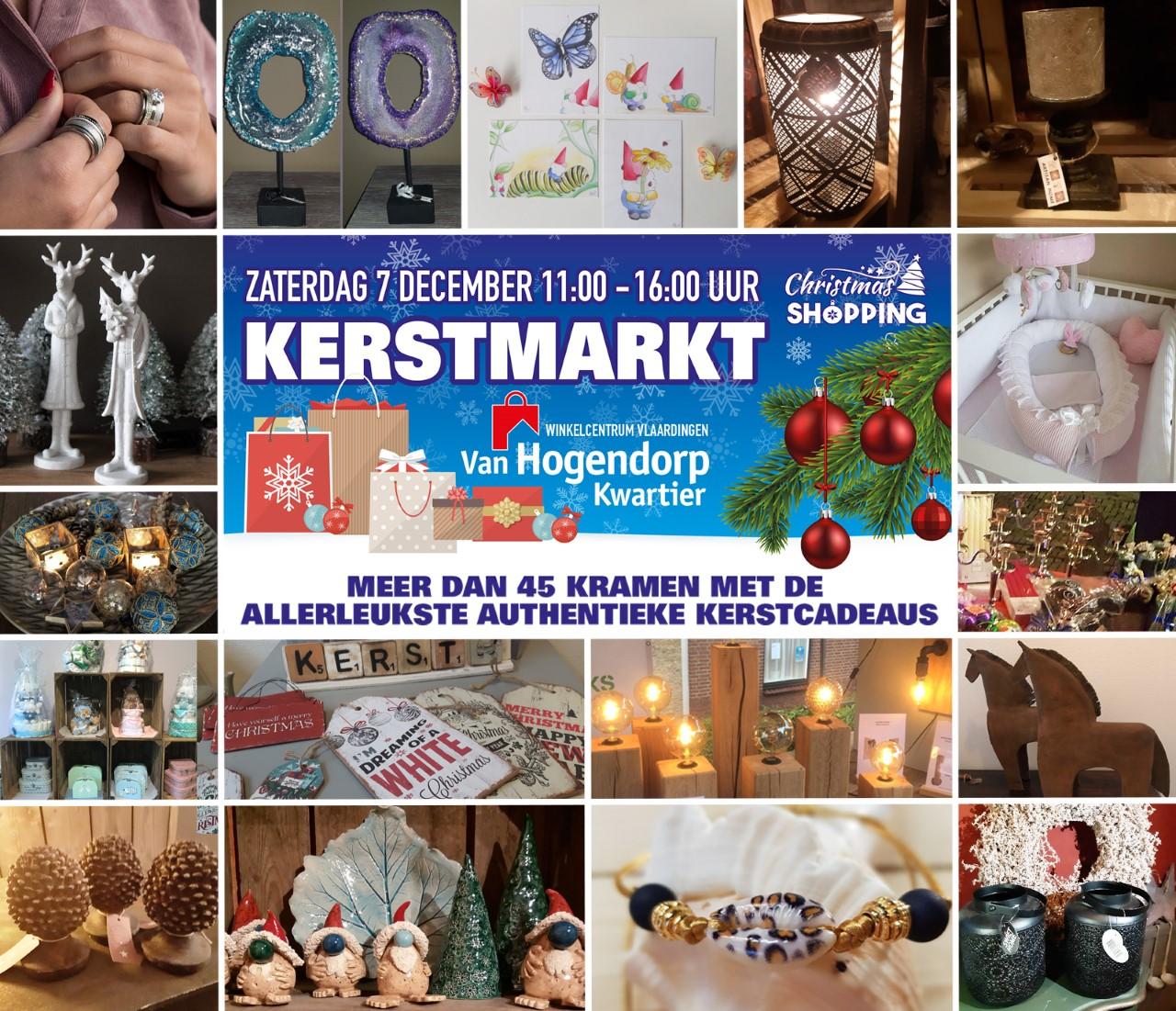 Grootse kerstmarkt op het Van Hogendorpkwartier